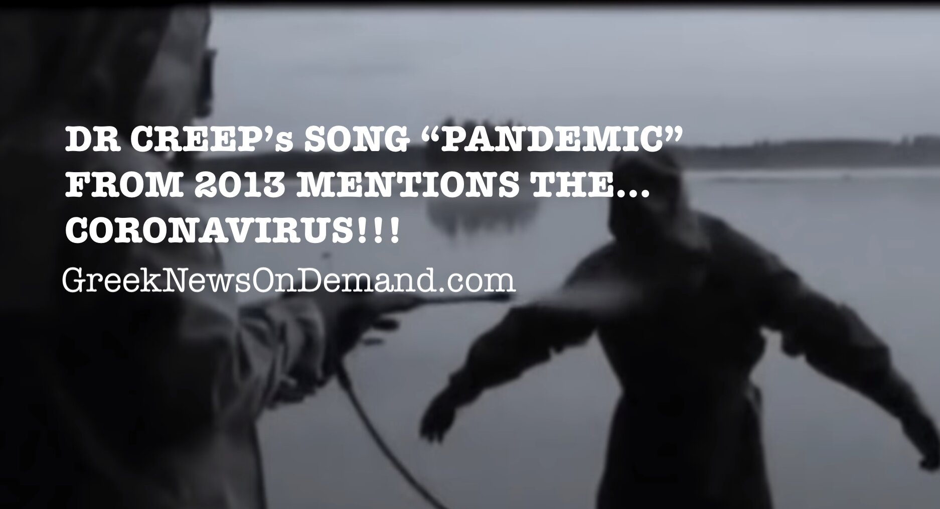 Dr. Creep rap song from 2013 predicts the…CORONAVIRUS for the year…2020!!!