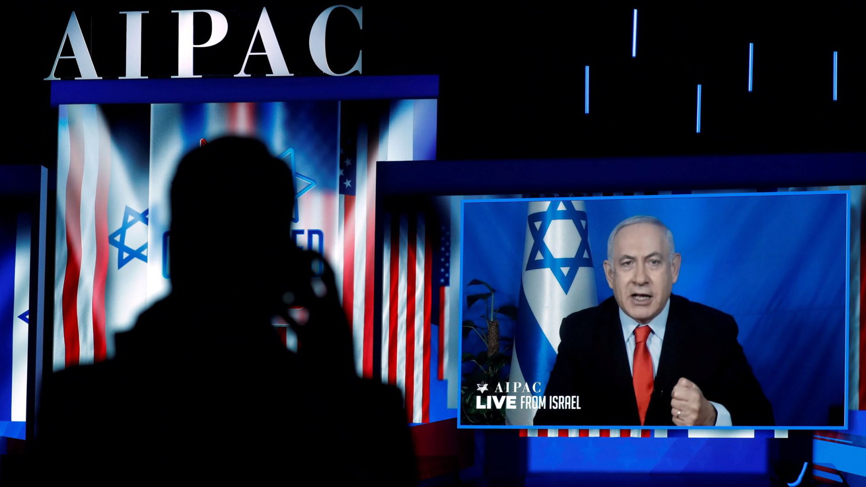 Where's the outrage over Netanyahu trying to interfere in the US election?