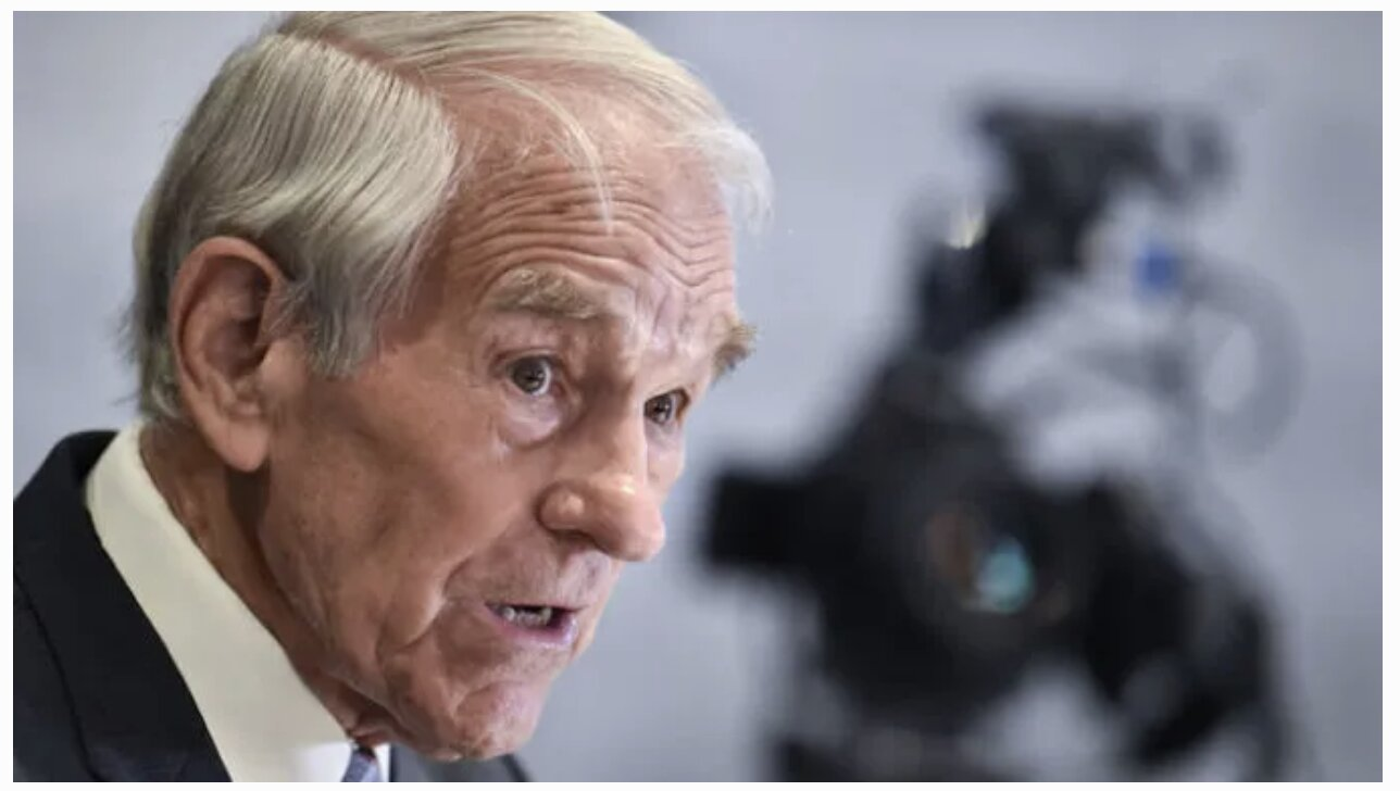 Ron Paul: Authoritarians Have 'Suspended the Constitution' and 'Placed the Country Under House Arrest'