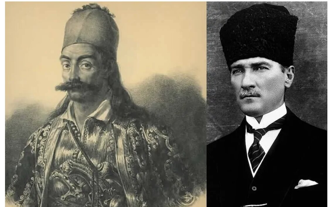Today Greece celebrates a national hero hero while Turkey celebrates the genocider of Greeks