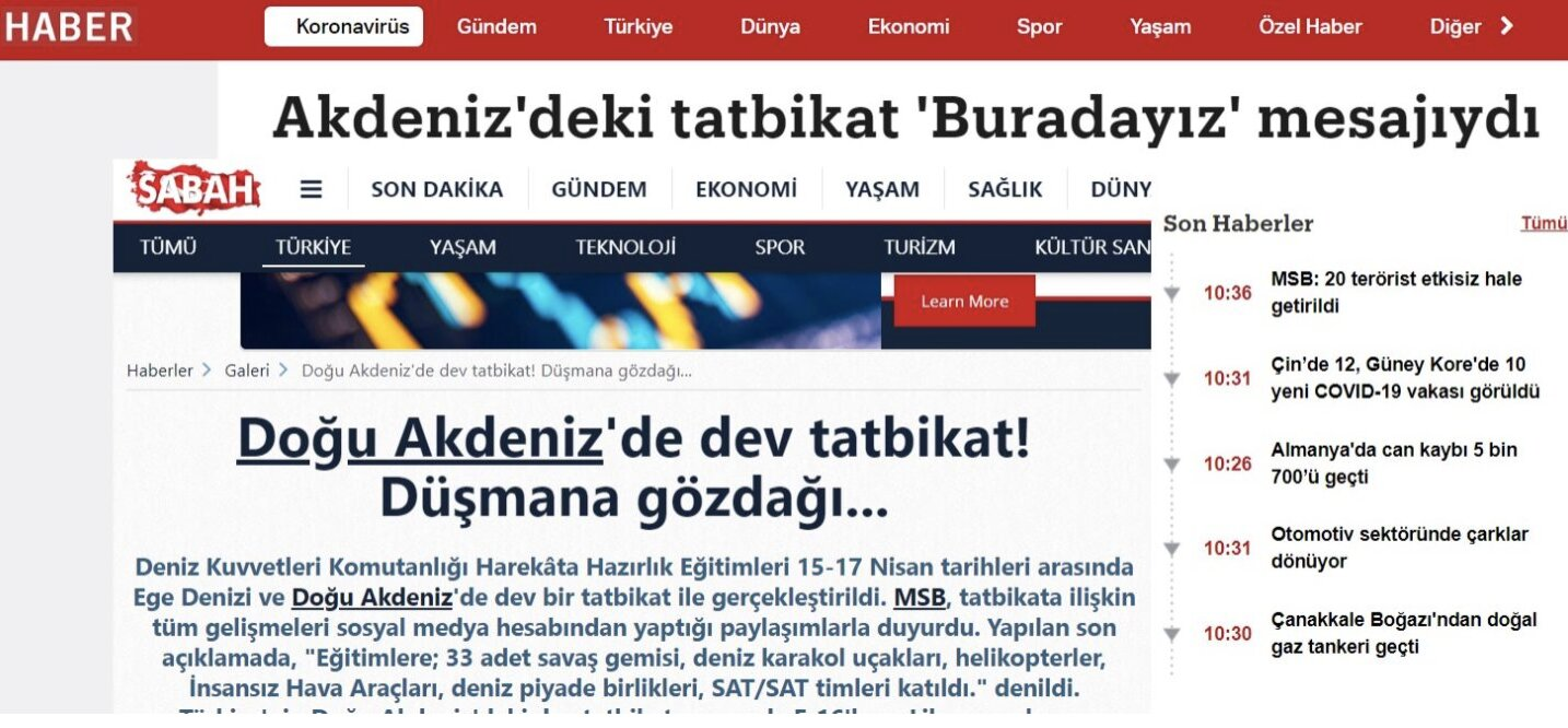 "Turkish media thinks Greece ""fears"" Turkey's recent naval exercises, forgets Greece's undefeated navy"