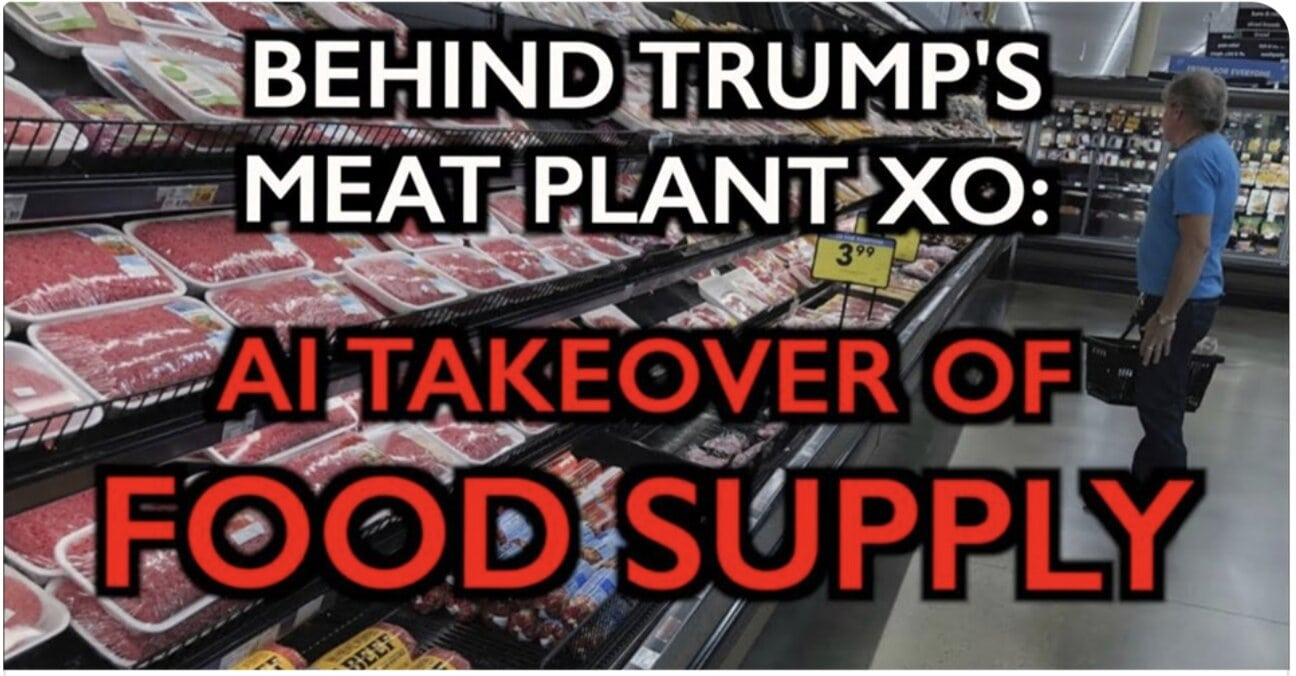 COVID-19: AI Takeover of Food Launched – Trump's Meat XO