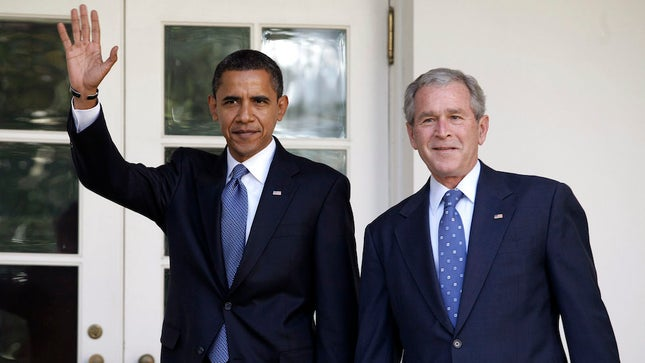 "Both George W Bush and Barack Obama ""predicted"" the…CORONAVIRUS. TREASON in retrospect!"