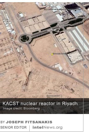 Satellite photos show nearly completed nuclear reactor in Saudi Arabia