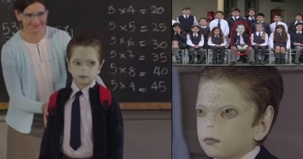 A Bizarre UNICEF Video Urging Kids To Accept Reptilian Aliens