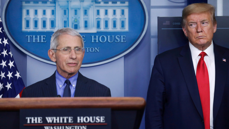 WHO warns Covid-19 may 'never go away' as Trump clashes with Fauci over US reopening