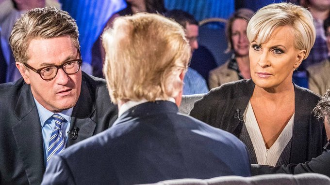 TRUMP ACCUSES MSNBC HOST JOE SCARBOROUGH OF MURDER!