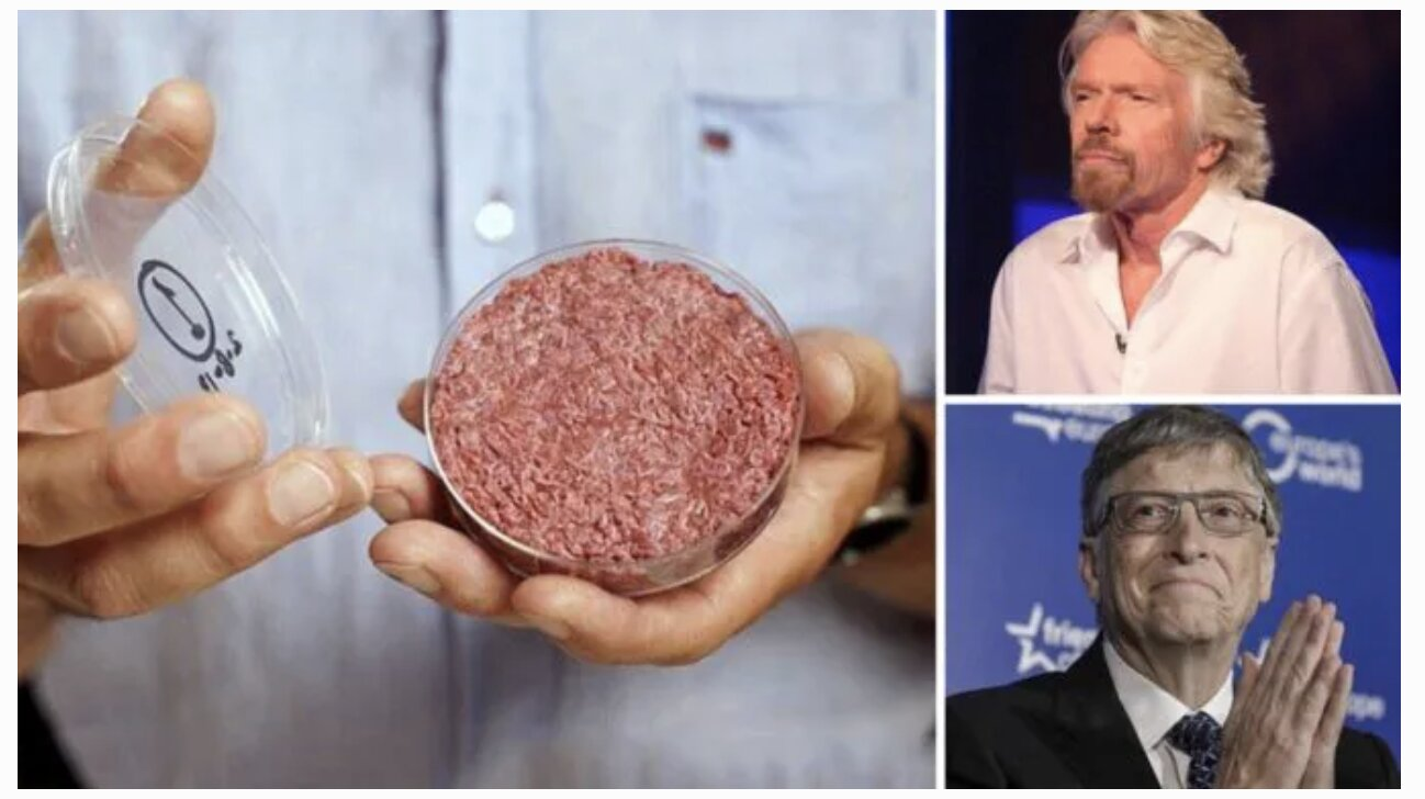 Bill Gates & Richard Branson Have Both Invested In Lab Grown Meat