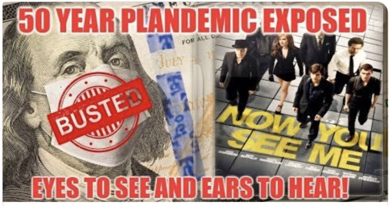 "Agenda ""PLANDEMIC"" – 50 Years In The Making – A Must Watch & Share Video!"