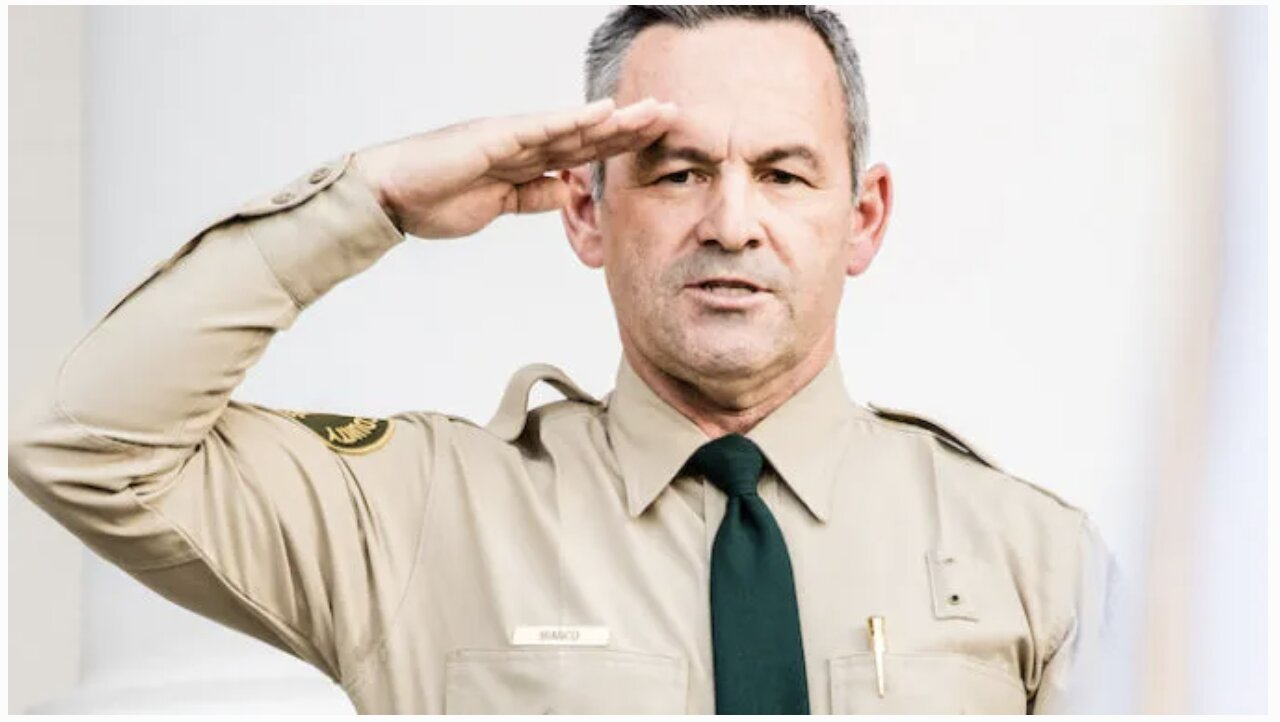 Brave California Sheriff: I Refuse to Make Criminals out of Business Owners