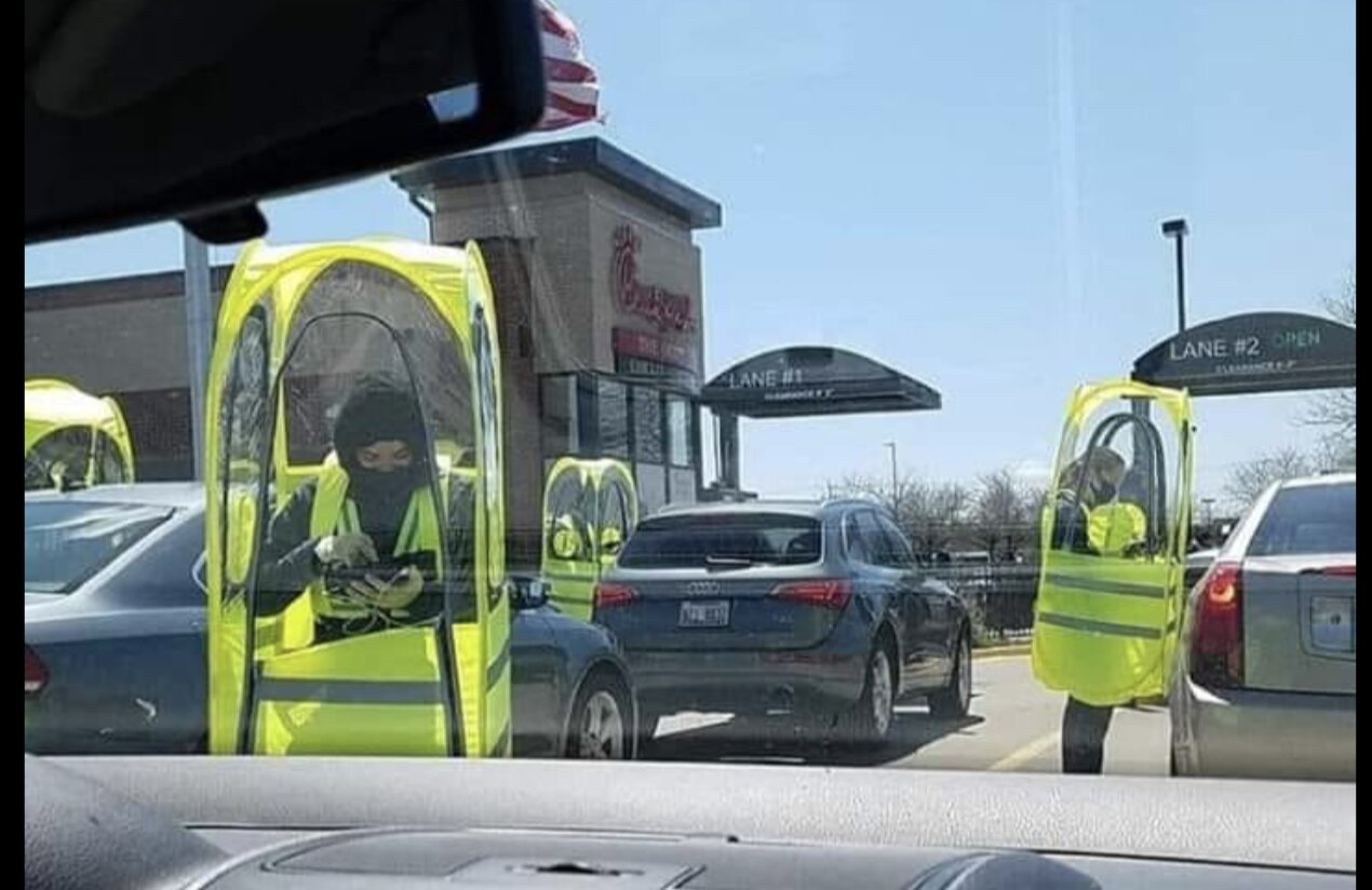 Coronavirus: Chick-fil-A in Rockford, Illinois….LORD HAVE MERCY