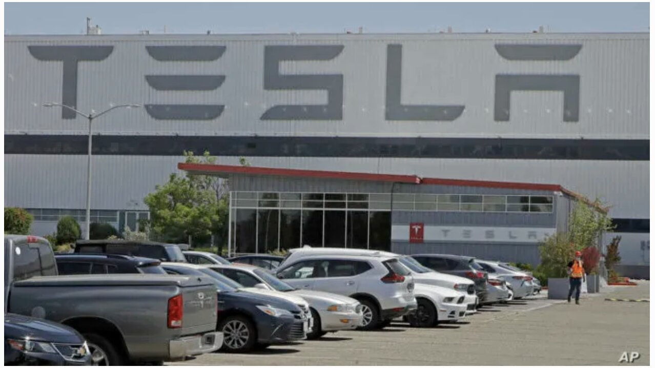 Elon Musk Reopens Tesla Plant In California In Defiance Of Lockdown Order