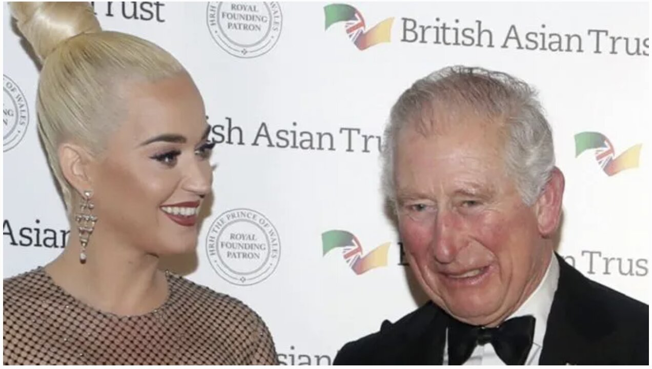 Katy Perry Appointed Ambassador For Prince Charles' South Asia Anti-Child Trafficking Charity. Hmmm…