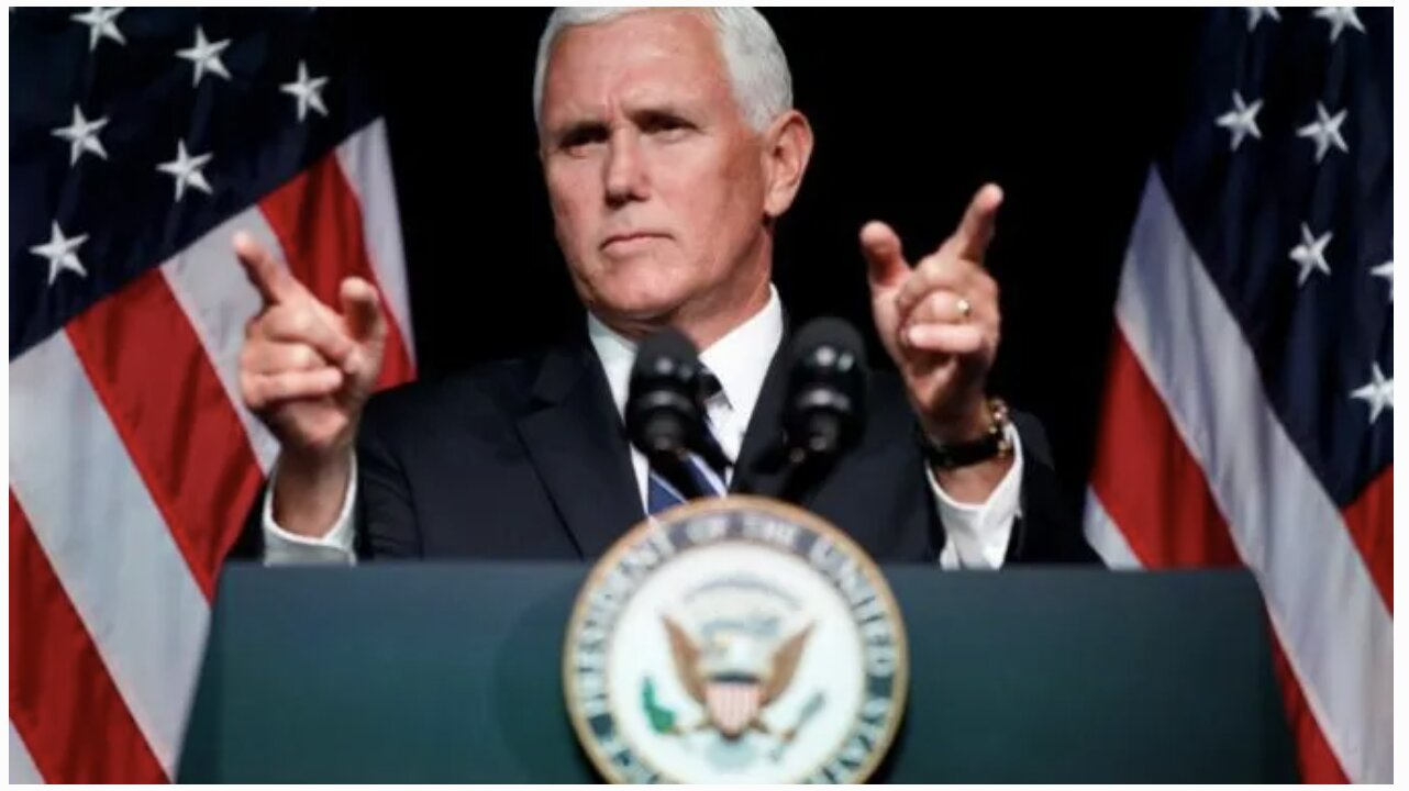 Mike Pence: We're NOT Going to Tolerate Social Media Censorship Anymore