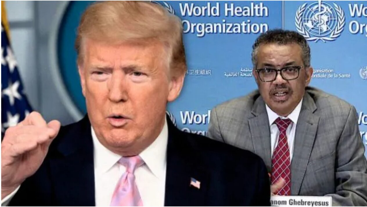 Trump 'Terminates' US Relationship With World Health Organization