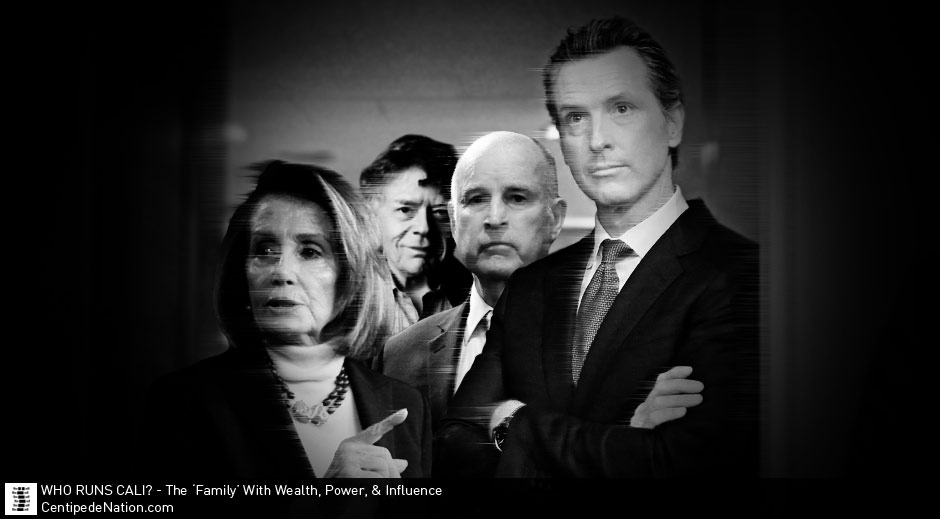Brown, Pelosi & Getty: The Corrupt Families With Wealth, Power, & Influence That Have Run California For Years.