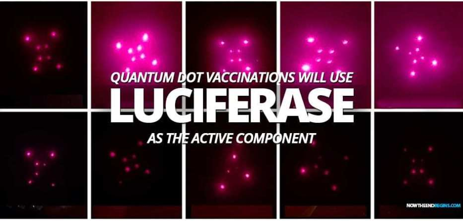 SHOCK AS IT'S REVEALED AN ENZYME CALLED LUCIFERASE IS WHAT MAKES BILL GATES IMPLANTABLE QUANTUM DOT MICRONEEDLE VACCINE DELIVERY SYSTEM WORK