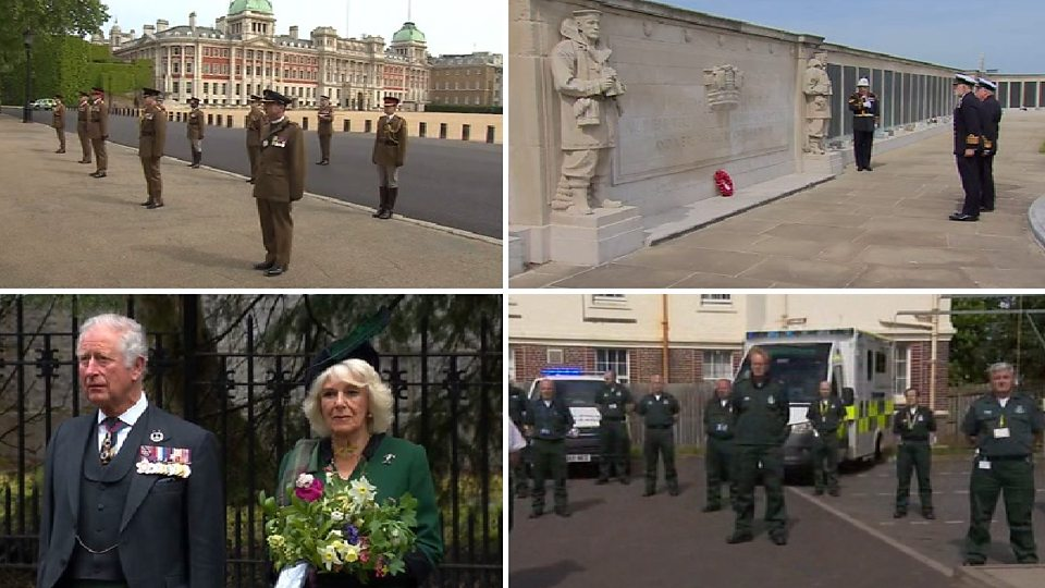 VE Day: UK marking 75th anniversary of end of WW2 in Europe