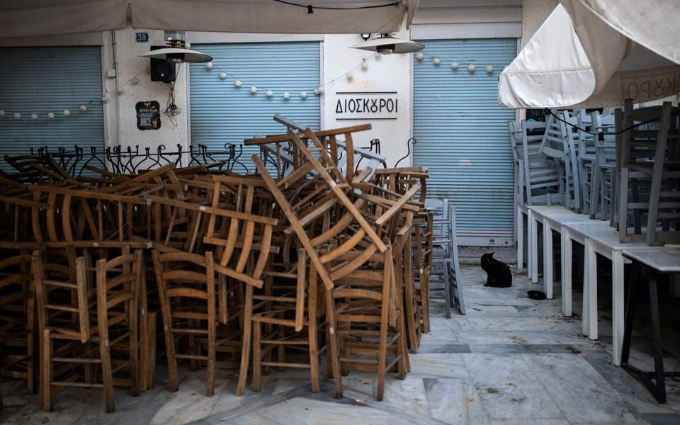 Restaurateurs in Greece to join 'empty chairs' protest rally