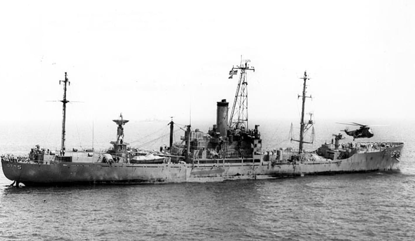 'But Sir, It's an American Ship.' 'Never Mind, Hit Her!' When Israel Attacked USS Liberty