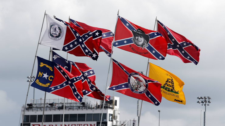 NASCAR bans Confederate flag at all events and properties