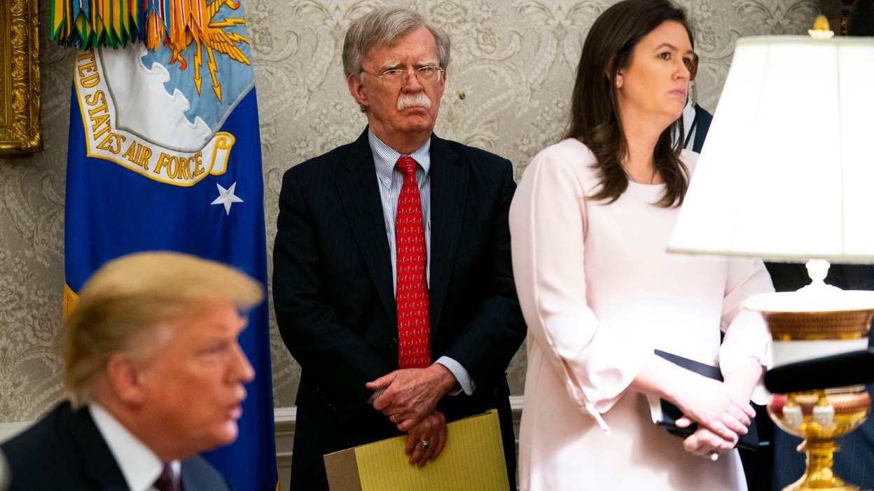 BOLTON BOOK BOMBSHELLS, TRUMP 'LIAR', ASKED XI FOR RE-ELECTION HELP, OK'D CONCENTRATION CAMPS, POMPEO: POTUS 'FULL OF SH*T'