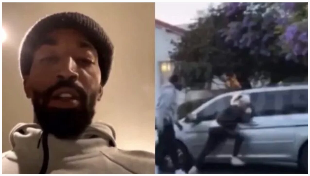 NBA Star J.R. Smith Caught a Rioter Vandalizing His Car: 'He Broke My Window So I Whooped His A**'