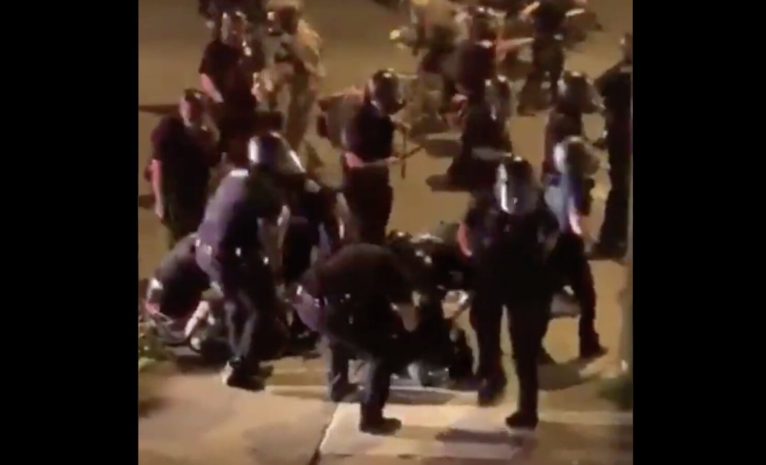 BREAKING: A car just ran over a bunch of police in Buffalo, New York!!! / #GeorgeFloyd #protests2020