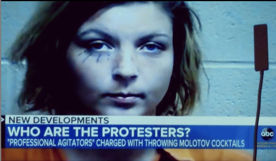 "Fake George Floyd protestors outed by Good Morning America – They're hired as ""professional agitators""!"