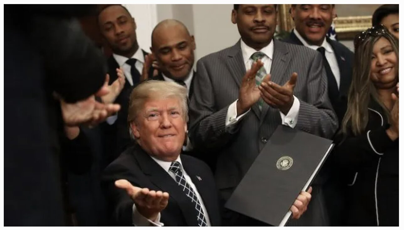 Black Approval for Trump Surges to Over 40% Despite Negative Media