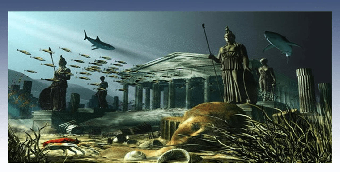 Plato Describes Atlantis // First Mention of the Island // 360 BC 'Critias'