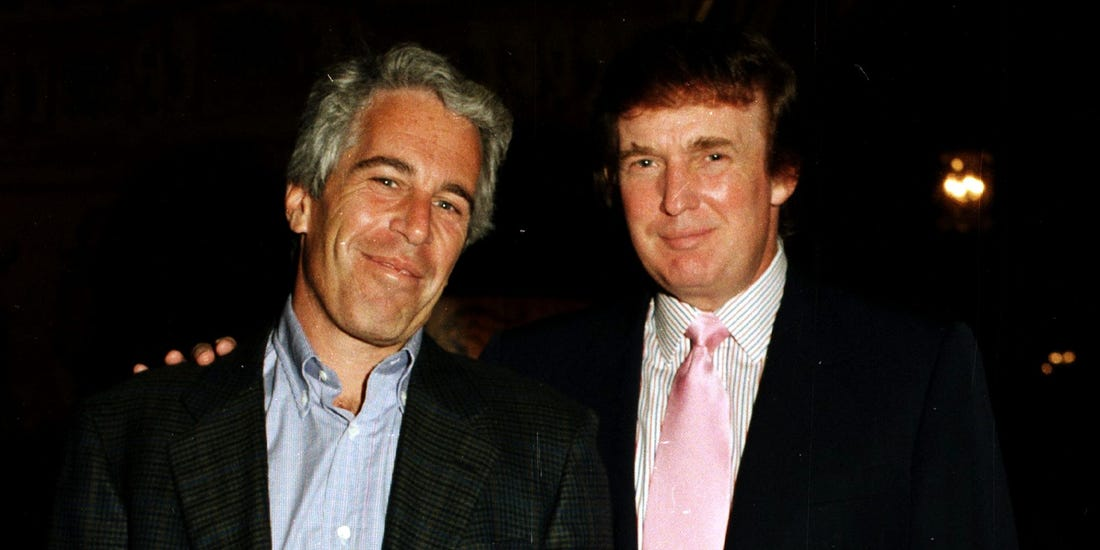 Trump flew on Jeffrey Epstein's Lolita Express on Jan. 5, 1997
