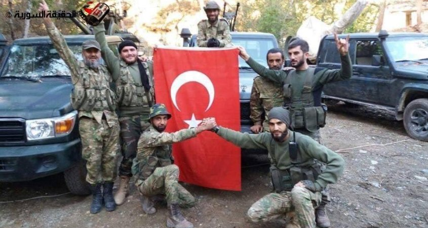 The US has backed 21 of the 28 'crazy' militias leading Turkey's brutal invasion of northern Syria