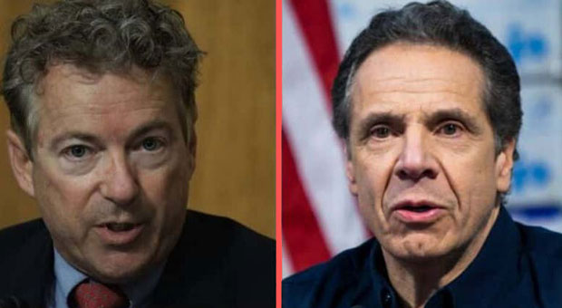 Rand Paul Calls for NY Gov Cuomo to be 'Impeached' for Nursing Home Deaths