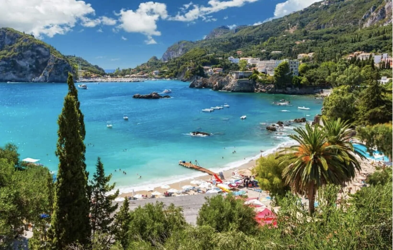 Greece is the top choice for Italians wanting to travel abroad