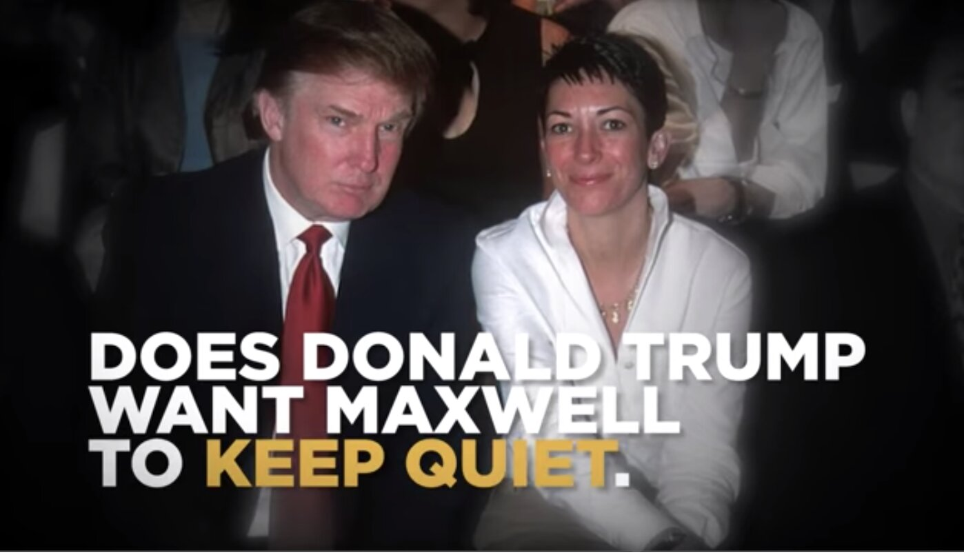 What Does Ghislaine have on Donald Trump? (new Video)