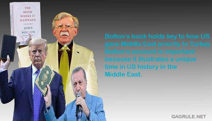 National Security Adviser Bolton Exposes Trump's Corrupt dealings with Erdogan