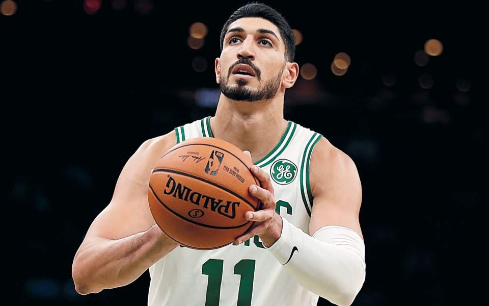 Turkish NBA star Kanter says 'Thank you Greece'