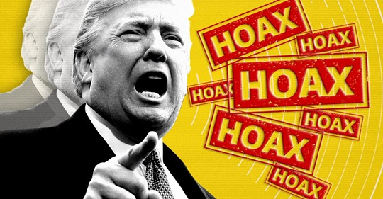 Yahoo News: Trump identifies another hoax: The coronavirus