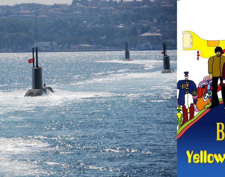 Turkish submarines surrounded by Greek military blared with ear piercing frequencies & Beatles song