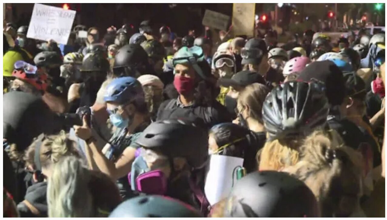 Portland Rioters Storm the Suburbs, Threaten To Rape Wives and Daughters