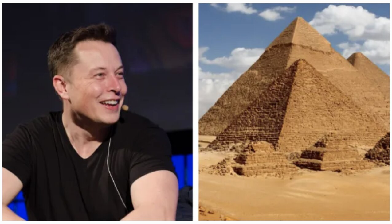 Elon Musk Says Aliens Built The Pyramids