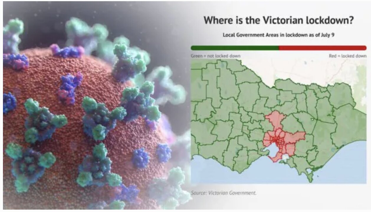 Victoria Declares 'State Of Disaster' With Stage 4 Lockdown & Overnight Curfew In Melbourne