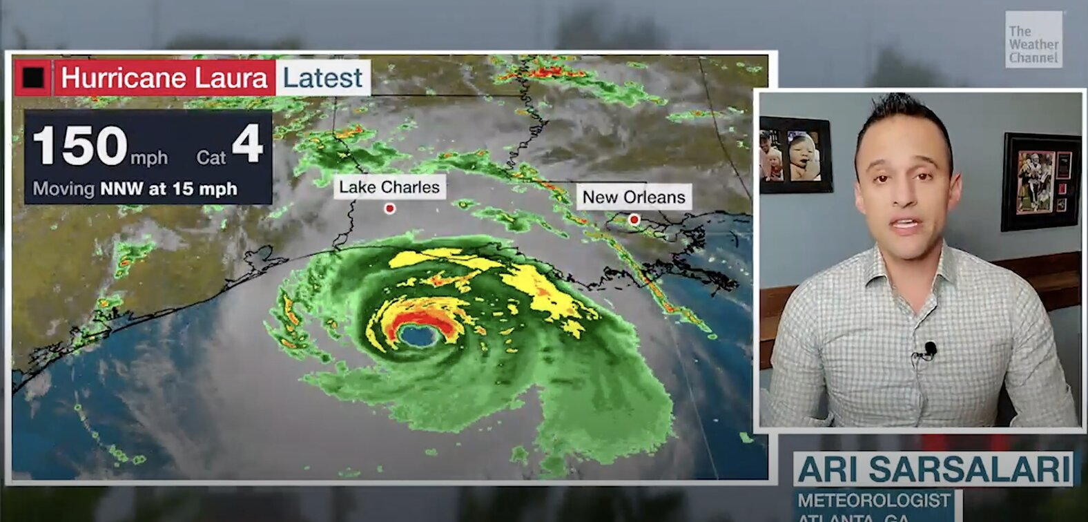 Hurricane Laura Strengthening and Is a Category 4; Catastrophic Strike Ahead Near Louisiana and Texas Border