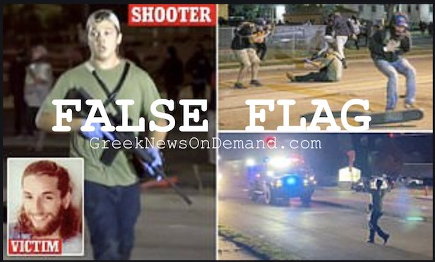 #KenoshaShooter caught working with law enforcement. America and the world duped again! #FalseFlag