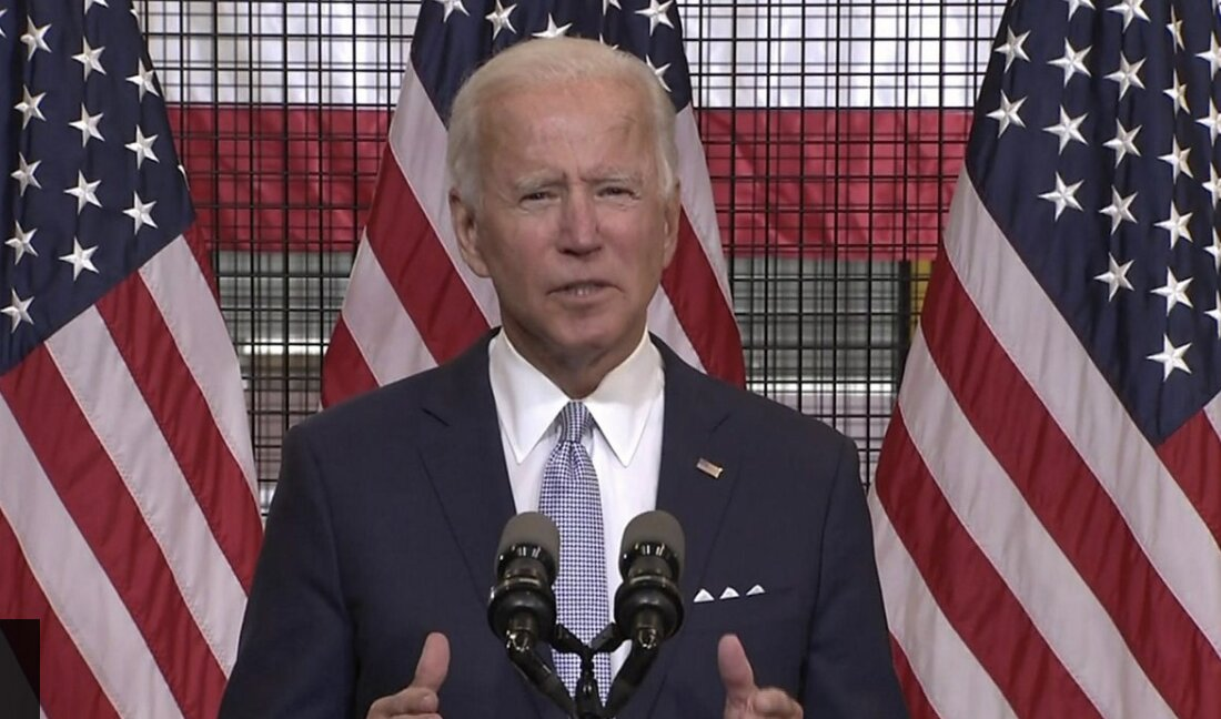 US election: Biden accuses 'weak' Trump of stoking violence