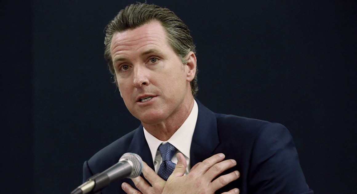 Gavin Newsom's 2020 Property Taxes Are Delinquent on BOTH of His Estates