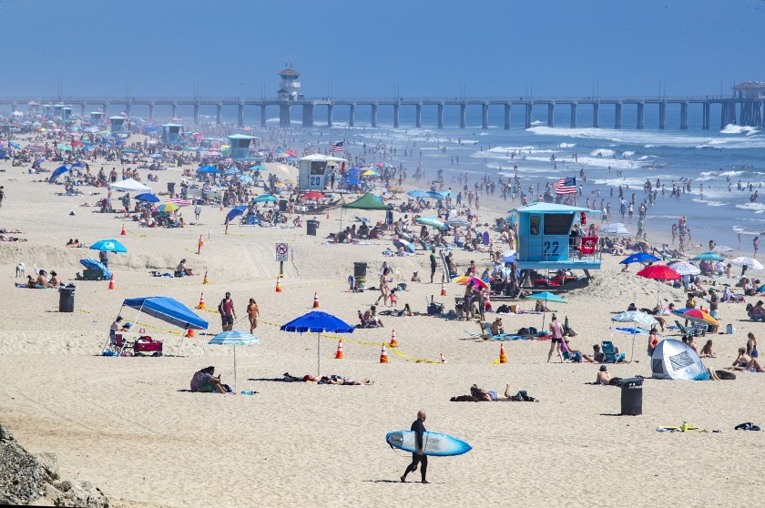 """Corona is a LIE!"" – Heat Wave Sends Thousands To San Francisco Beaches"