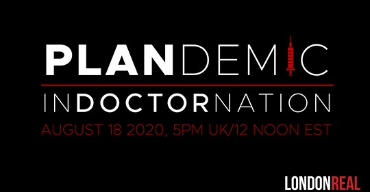 Documentary Plandemic – INDOCTORNATION – See it here!…