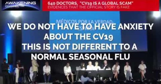 640 Doctors – Covid 19 is a Global Scam!